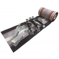 EasyTrim Ridge F Dry Fix Ridge Kit - 6m Black Kit