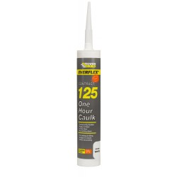 125 One Hour Caulk White - Box Qty: 25 - Size: c3 - Colour: White