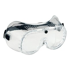 Direct Vent Goggles EN166 - Colour: Clear - Pack of: 10