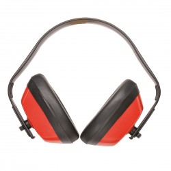 Classic Ear Muffs EN352 - Colour: Red - Pack of: 10