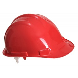 Endurance Safety Helmet - Colour: Red - Pack of: 5